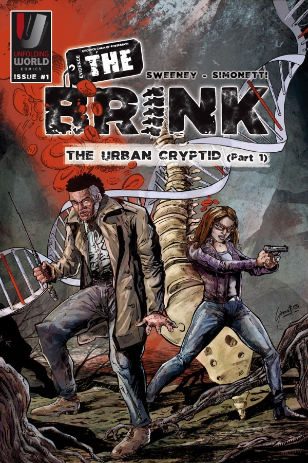 The Brink issue 1 cover