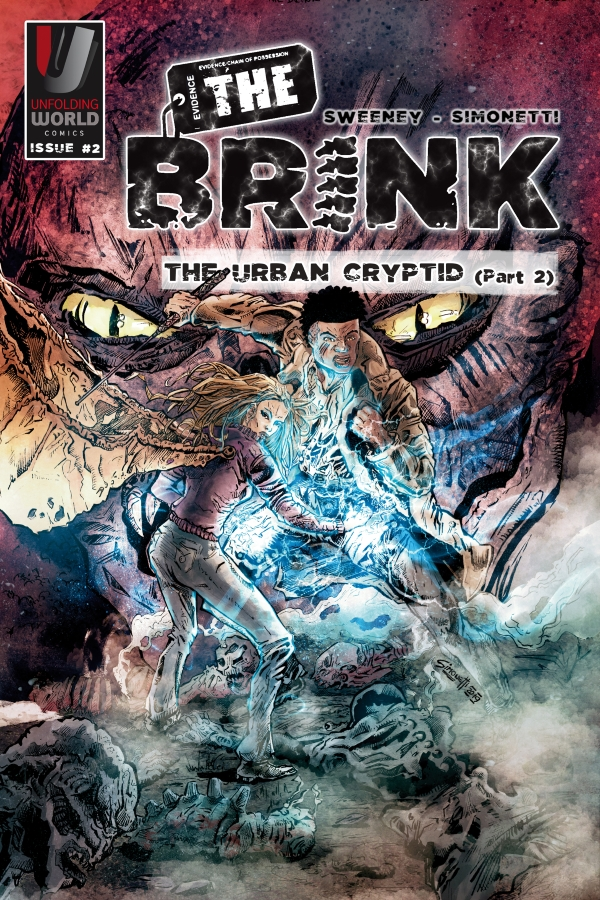The Brink issue 2 cover